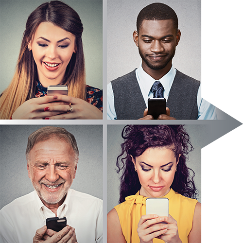 The Four Types of Digital Users