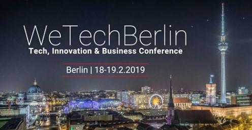 We Tech Berlin | Feb 18-19, 2019